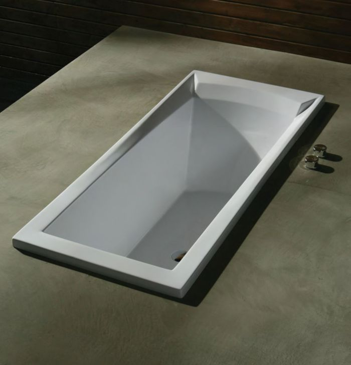 badewanne 160x76 porta acryl rechteckbadewanne tiefe badewanne gro ebay. Black Bedroom Furniture Sets. Home Design Ideas